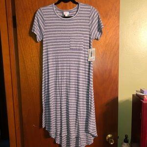 NWT- Lularoe Carly T-shirt dress